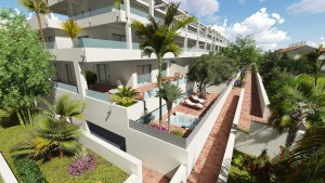 OCEAN HILLS – APARTMENTS & PENTHOUSES in Estepona , Spain