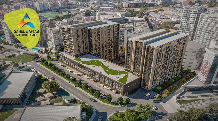آپارتمان واقع در منطقه توپکاپی واقع در شهر استانبول