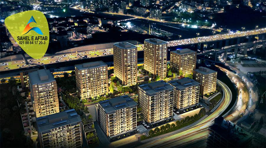 """ملک واقع در """" ماسلاک"""" بزرگترین منطقه تجاری واقع در استانبول"""