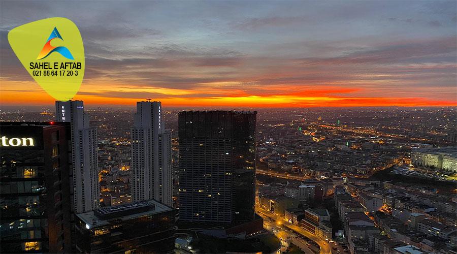 آپارتمان واقع در منطقه شیشلی یکی از مهمترین منطقه های استانبول